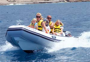 Fun speed boats