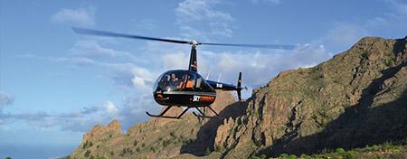 Tour en hélicoptère des plages et des falaises