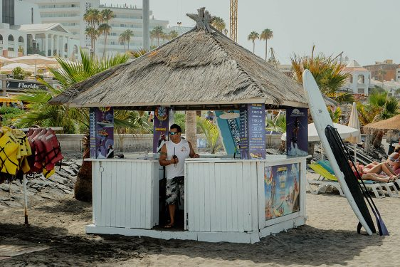 Water Sports center playa Fañabe