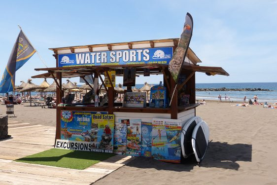 Water Sports playa Troya