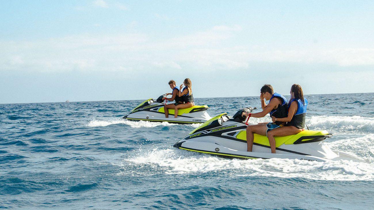 Jet ski Circuit Tenerife Canarias