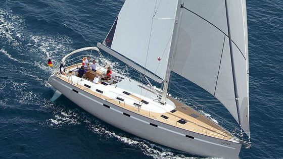 Lady Sunshine sailing Tenerife Fañabe