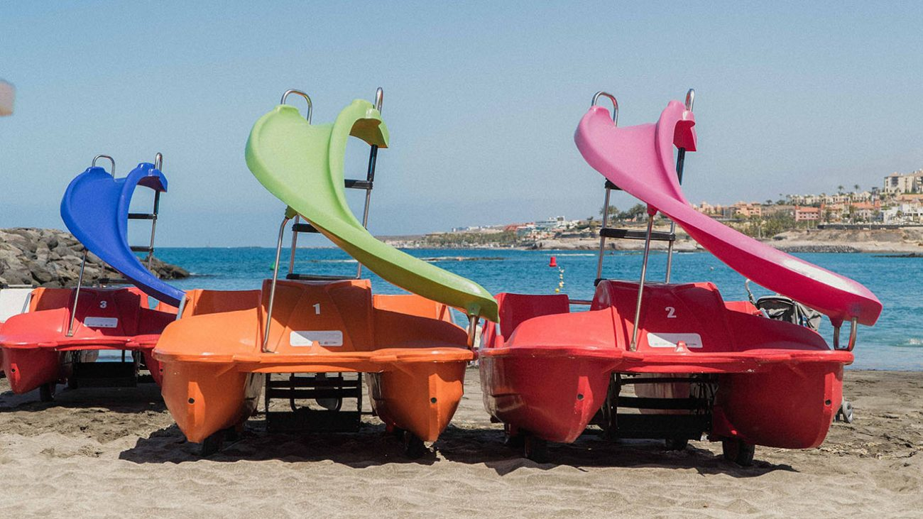Pedal boat tenerife canarias