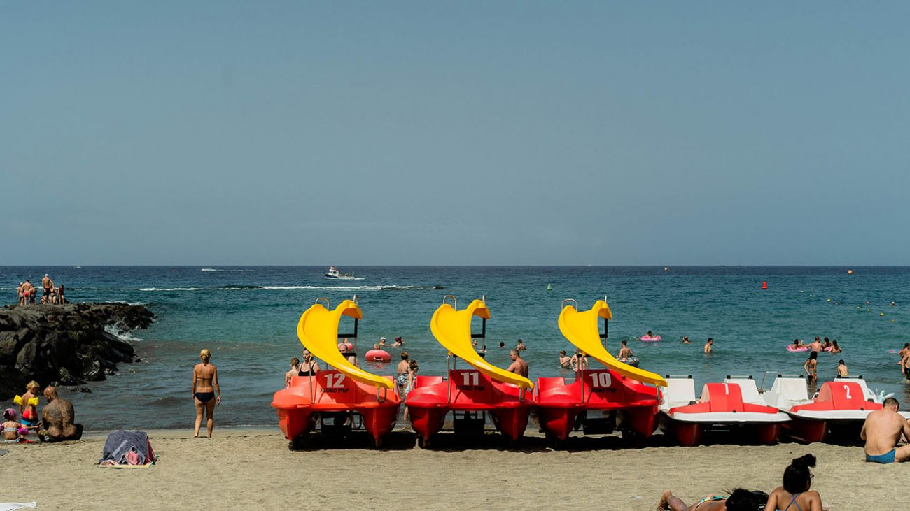 Pedal boat tenerife fañabe