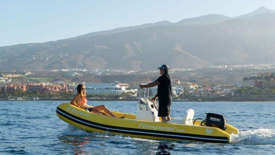 Wassersport Fañabe Teneriffa Segeln