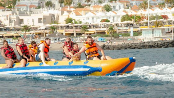 banana fun group Tenerife