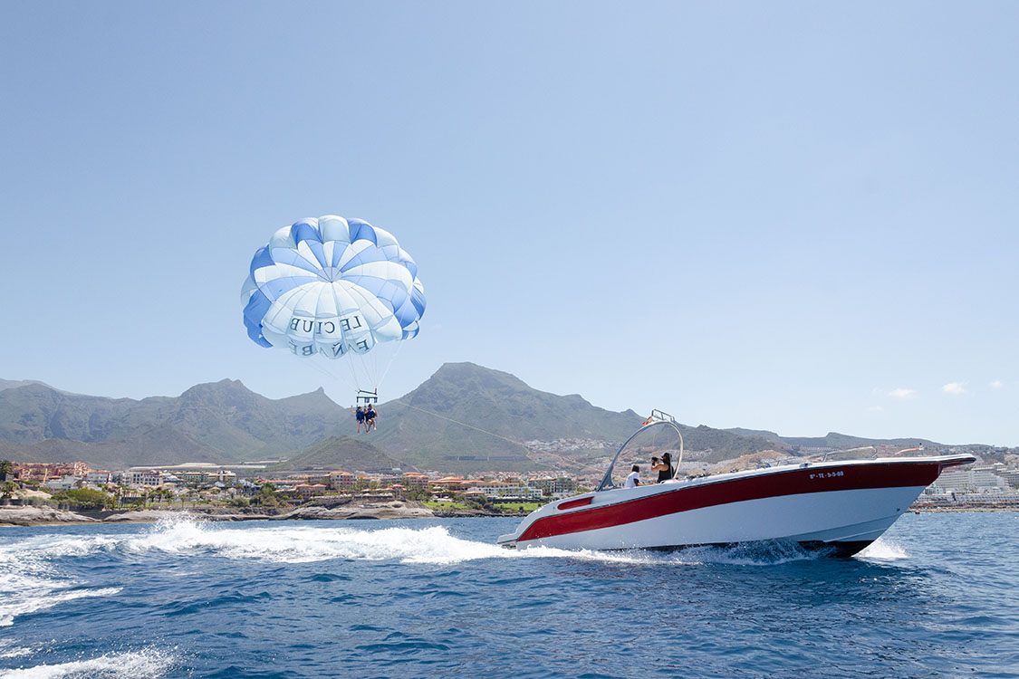 watersports tenerife parascending beach