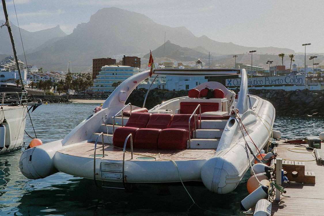 watersports tenerife sailing opera boat in port