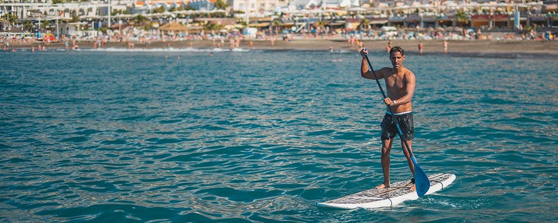 водные виды спорта Тенерифе Fanabe Paddle