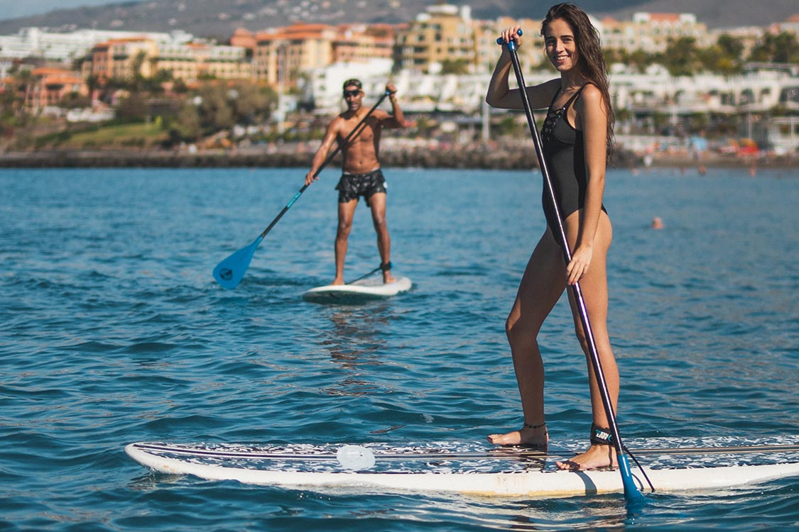watersports tenerife paddel together